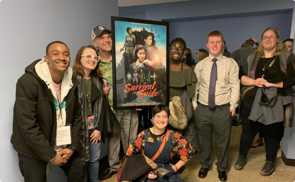 Survival Guide Cast and Production