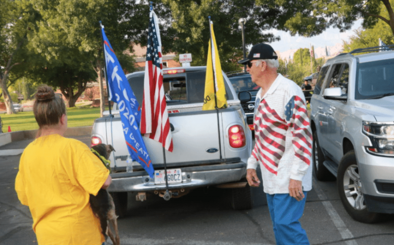 Constitution day: Vehicles adorned with flags and other related news