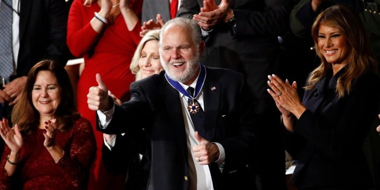 Rush Limbaugh, Lung cancer Stage 4